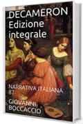 DECAMERON Edizione integrale: NARRATIVA ITALIANA 87