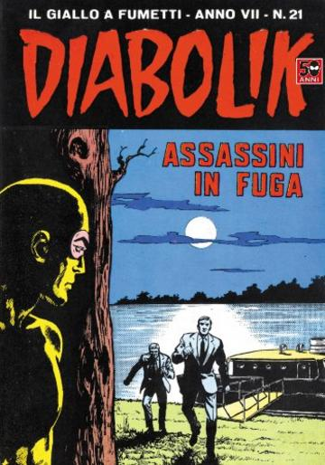 DIABOLIK (123): Assassini in fuga